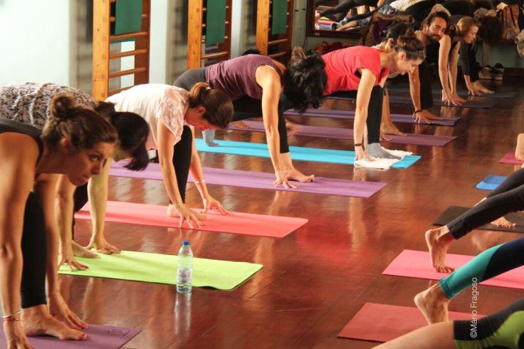 Yoga Comunitário em Lisboa