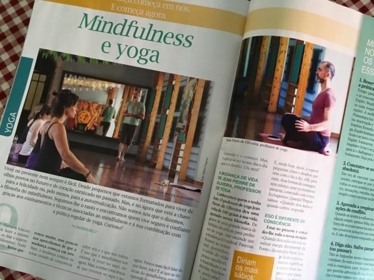 Yoga e Reiki de novembro