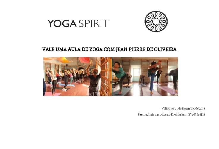 Vale uma aula de yoga com Jean Pierre de Oliveira