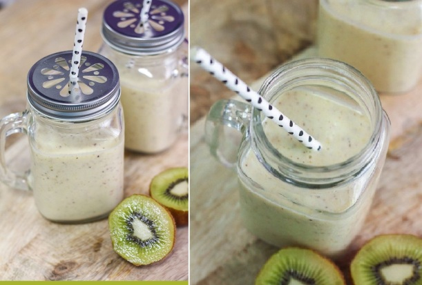 Batido de kiwi e banana