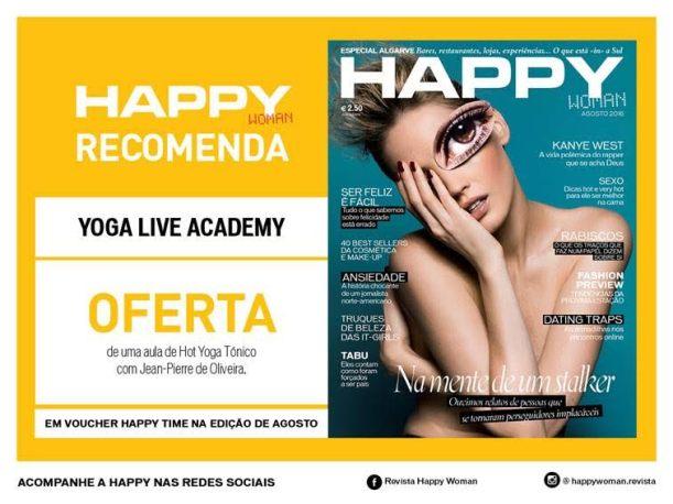 Hot yoga tónico com Jean Pierre de Oliveira